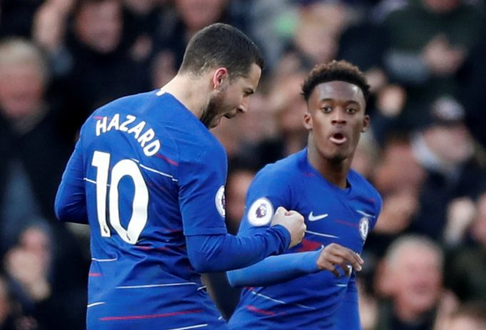 Eden Hazard Backs Callum Hudson-Odoi To Be The Future Of Chelsea