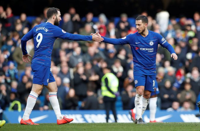 Gonzalo Higuain Wants Eden Hazard To Remain At Chelsea