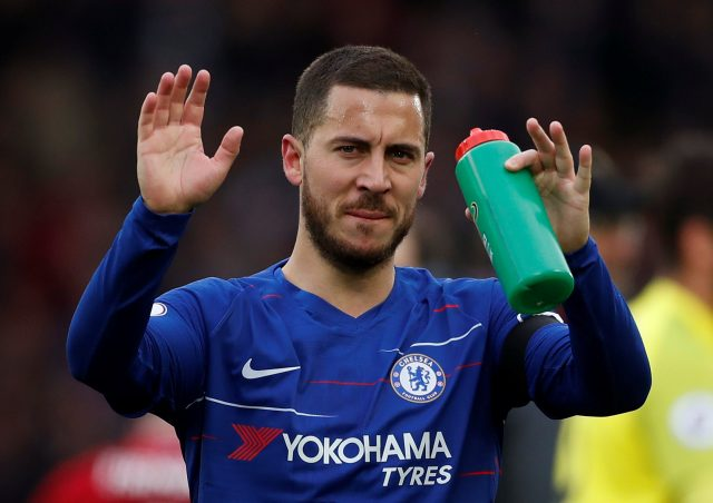 Hazard warns teammates Chelsea must qualify for Champions League