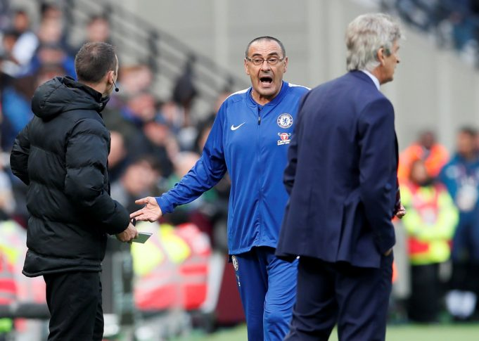 Maurizio Sarri Receives Backing From Fellow Premier League Manager