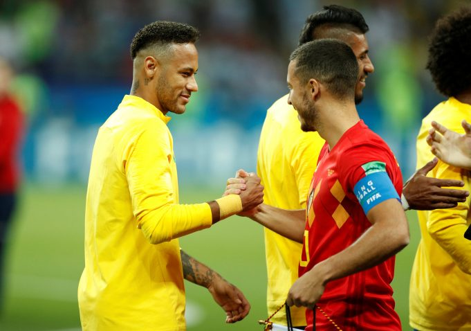 Neymar: Hazard and I would create havoc create together!