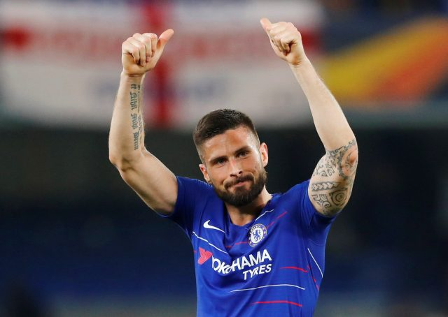 Sarri confirms that Giroud will stay at Chelsea