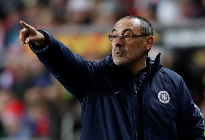 Sarri delighted with Chelsea fight