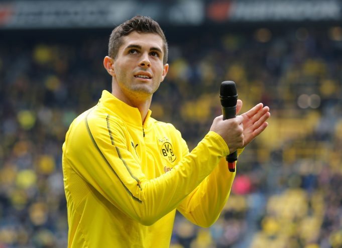 Christian Pulisic Does Not Plan On Replacing Eden Hazard At Chelsea