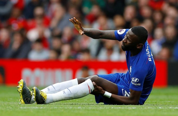 Is Rudiger out for the season?