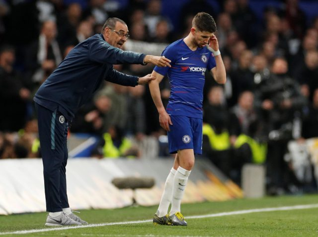 Jorginho makes bold prediction on Sarri's Chelsea future