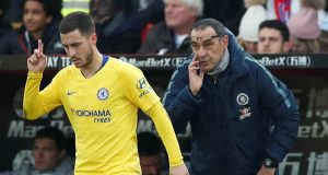 Maurizio Sarri Points Out One Problem Eden Hazard Has