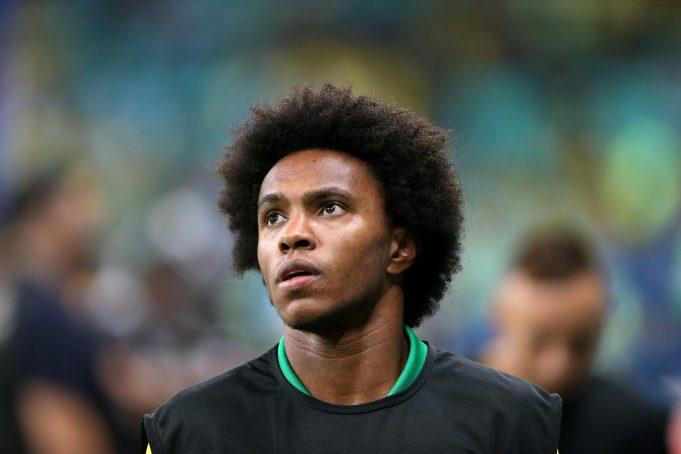 Chelsea turn down massive offer for star winger Willian