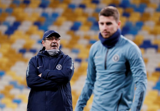 Jorginho's take on Sarri's Juve rumours
