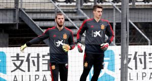 Kepa talks about rivalry with De Gea