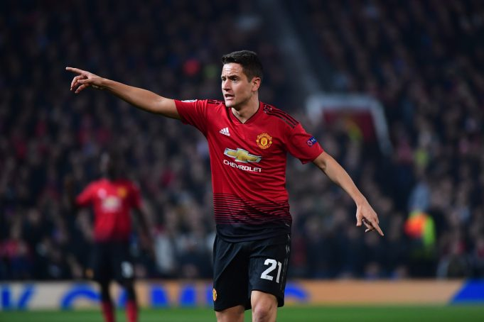 Man United's Ander Herrera Advices His Teammates to Stop Fascinating About Premier League Standings