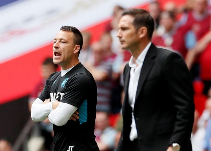 Terry backs Lampard to succeed at the Bridge