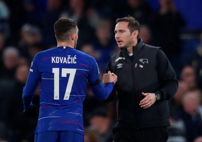 Kovacic hails Lampard impact