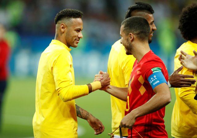 Marcelo compares Neymar and Hazard