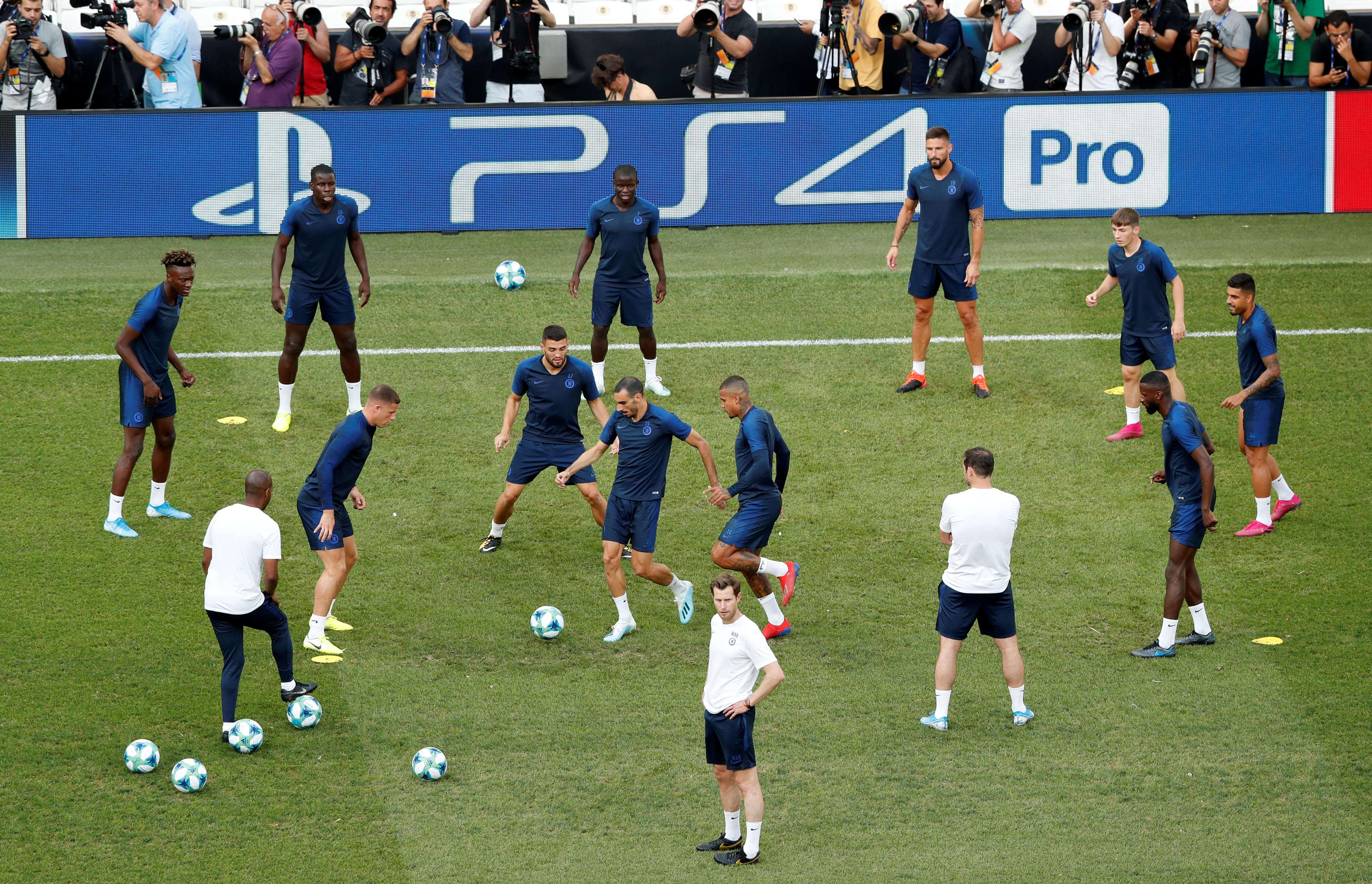 Kante reveals Lampard's midfield tactics
