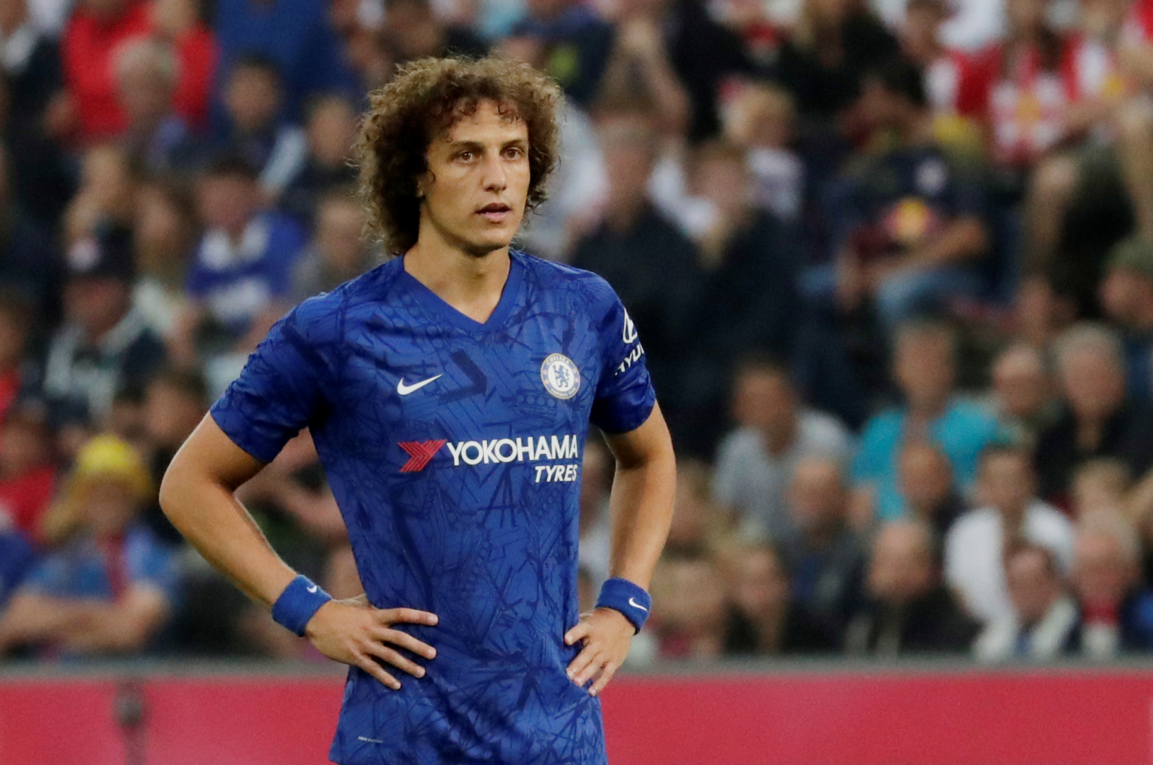 Lampard reveals Luiz situation at Chelsea
