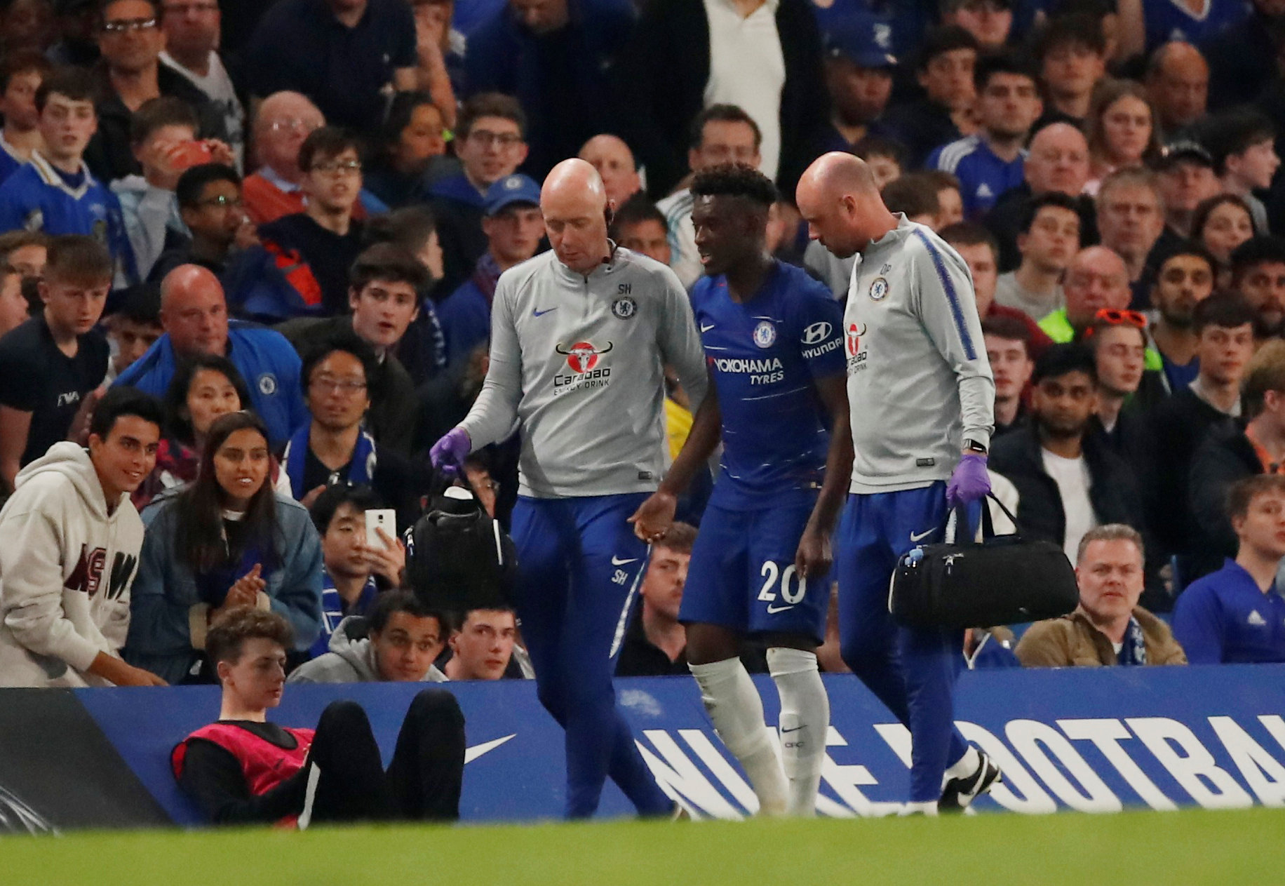 Hudson-Odoi in contention to face Valencia, Frank Lampard has confirmed