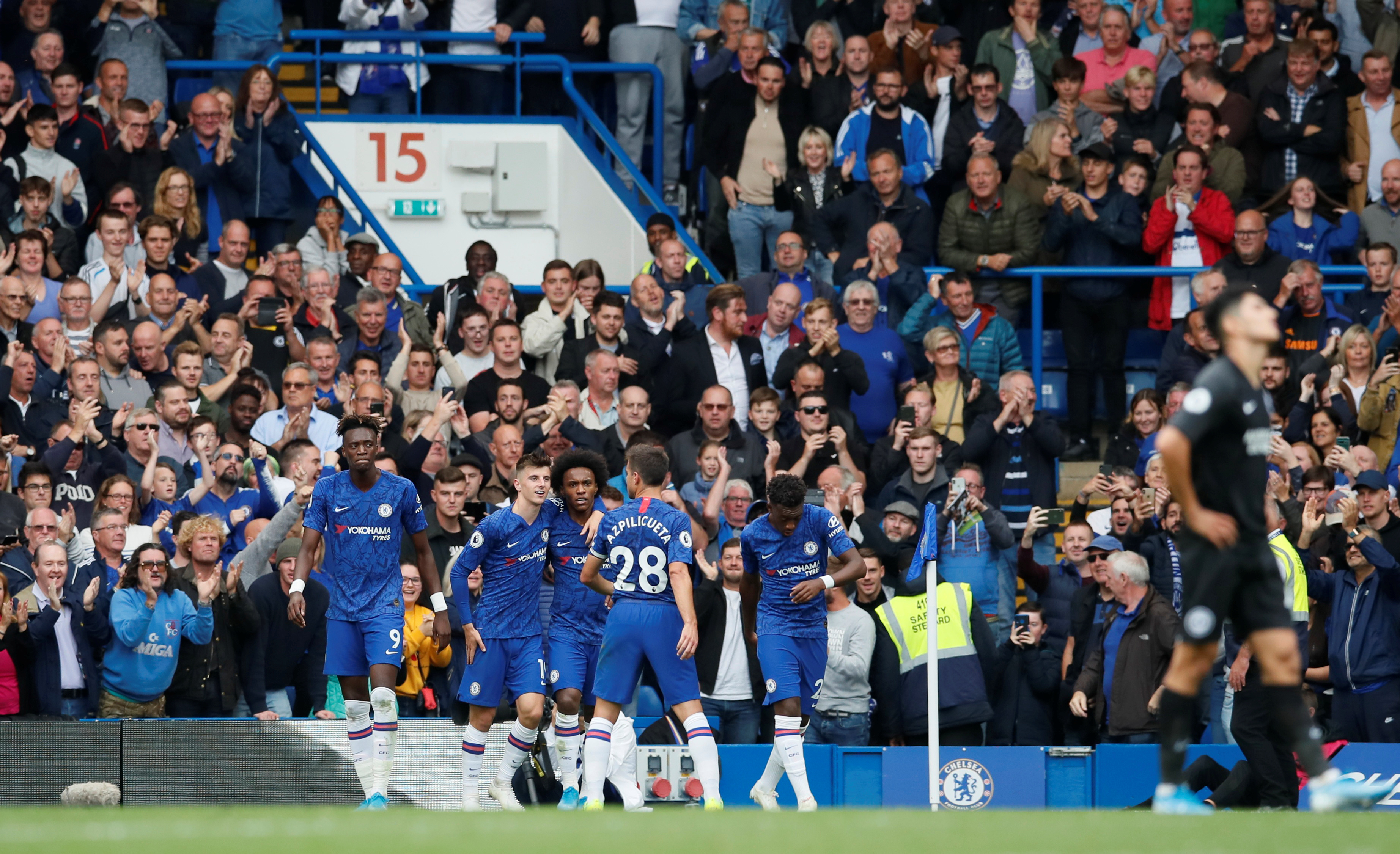 Chelsea fans reactions after Chelsea's first home win
