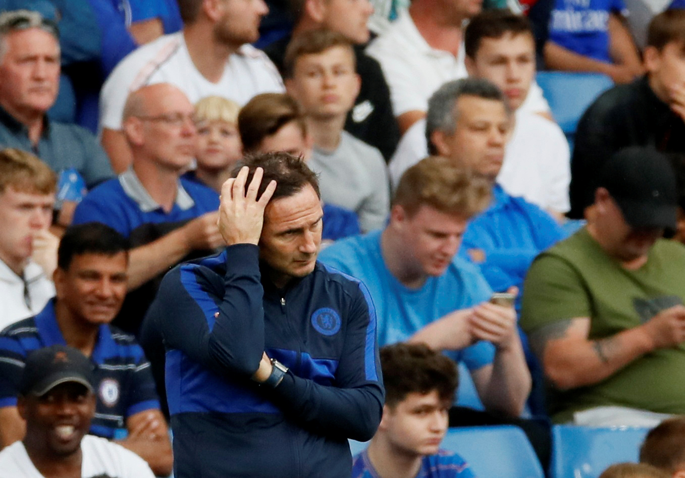 Lampard told to do a Mourinho