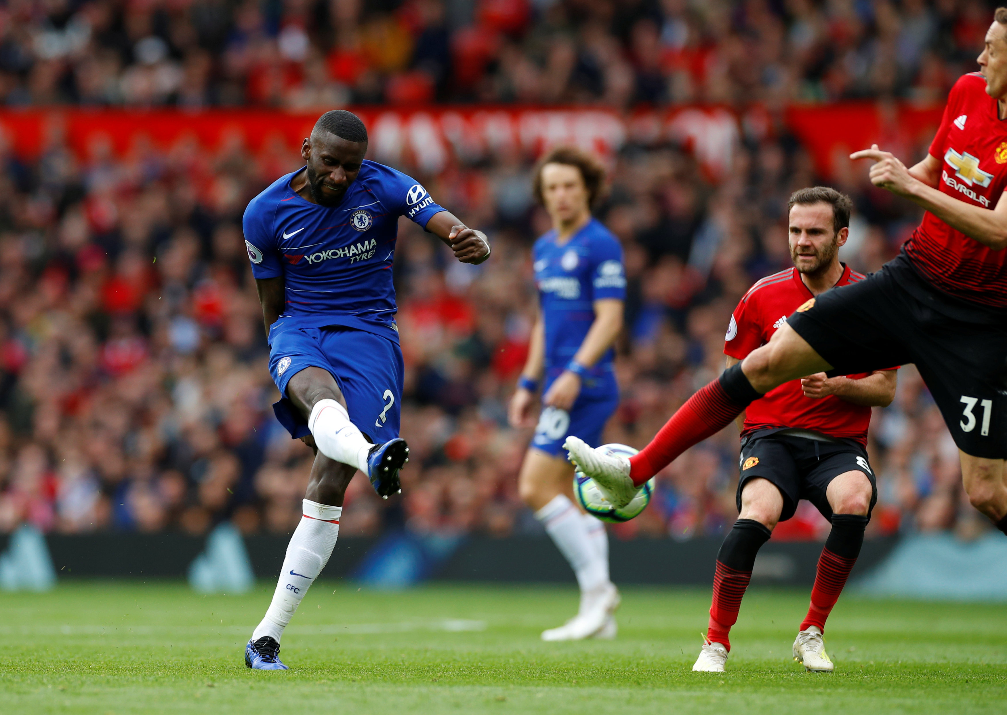 Antonio Rudiger and Reece James to return for Chelsea after international break