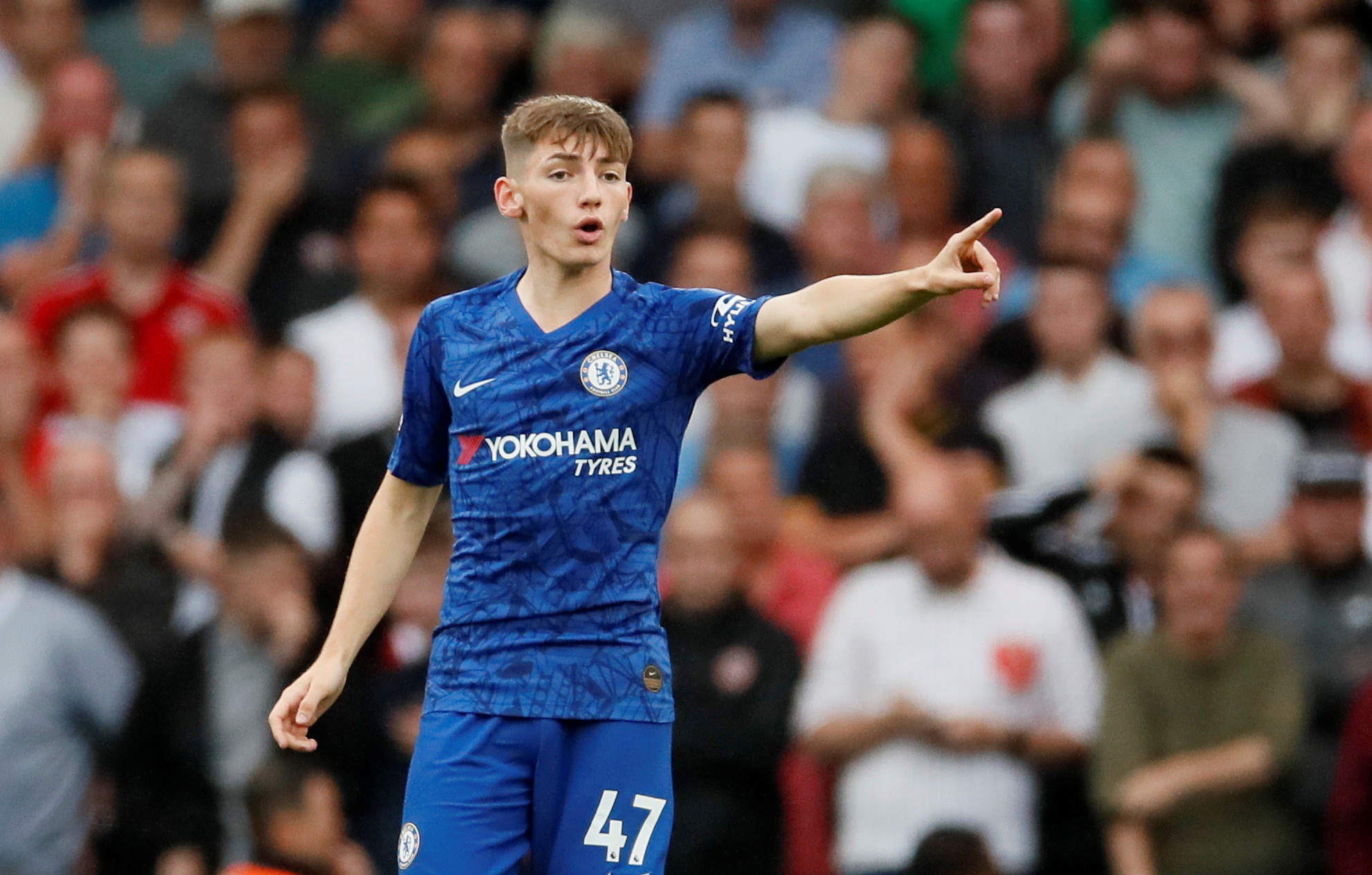 Billy Gilmour reveals Frank Lampard talk