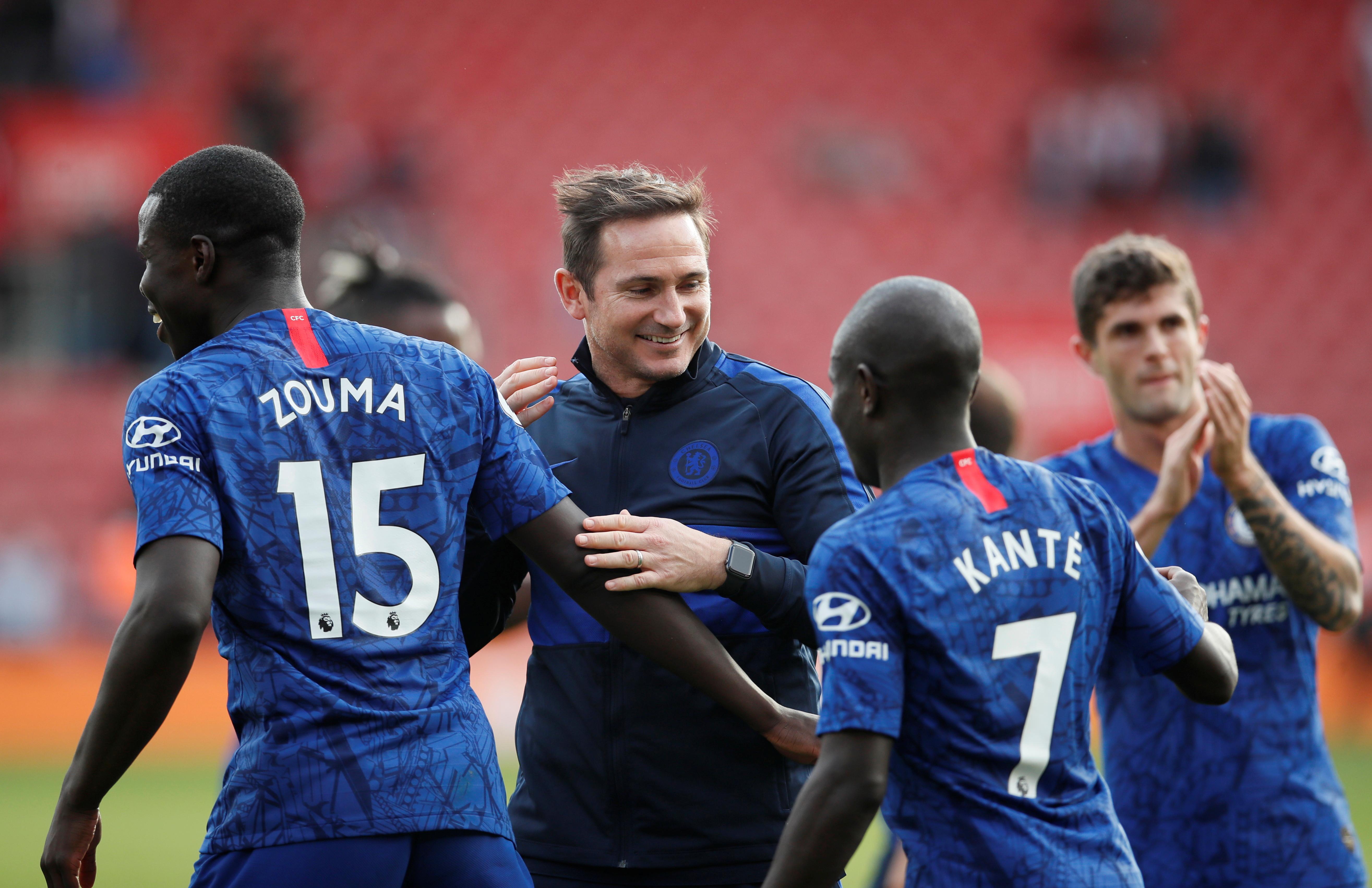 Chelsea boss Frank Lampard slams France for N'Golo Kante injury