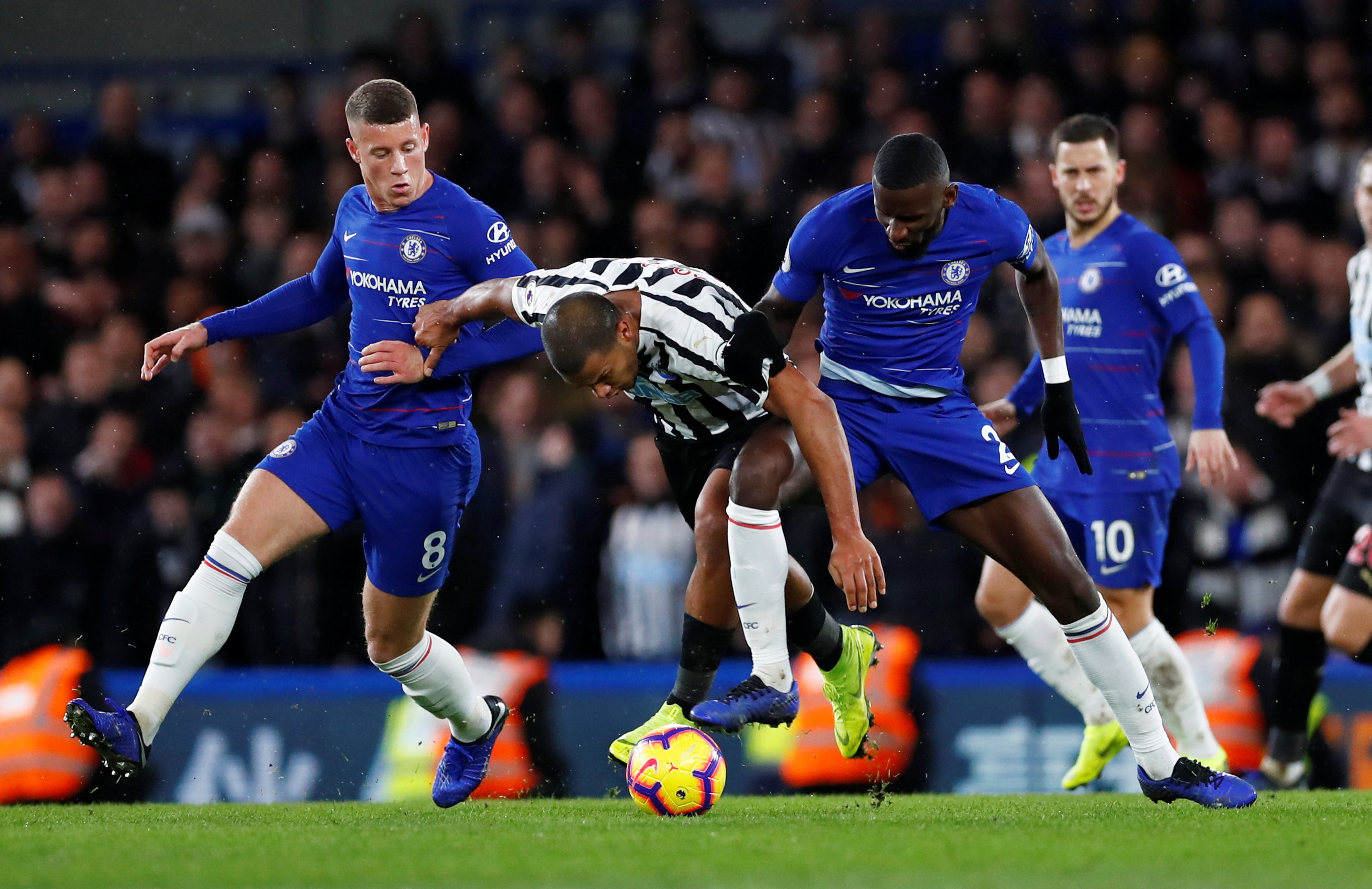 Chelsea vs Newcastle United Head To Head Record & Results (H2H)