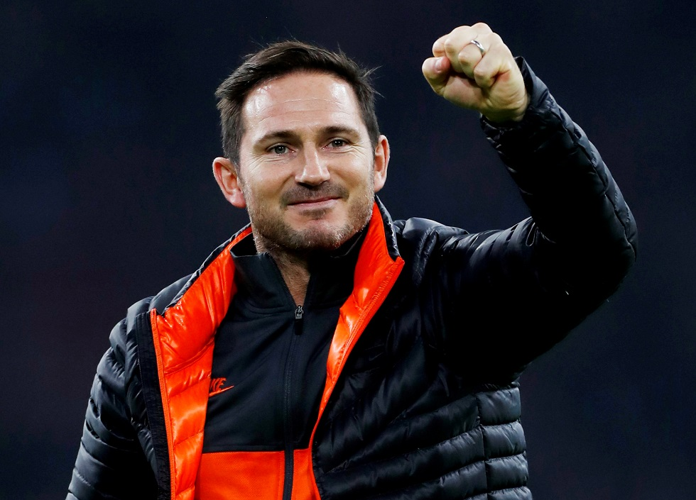 Frank Lampard Gleaming After 0-1 Win Over Ajax