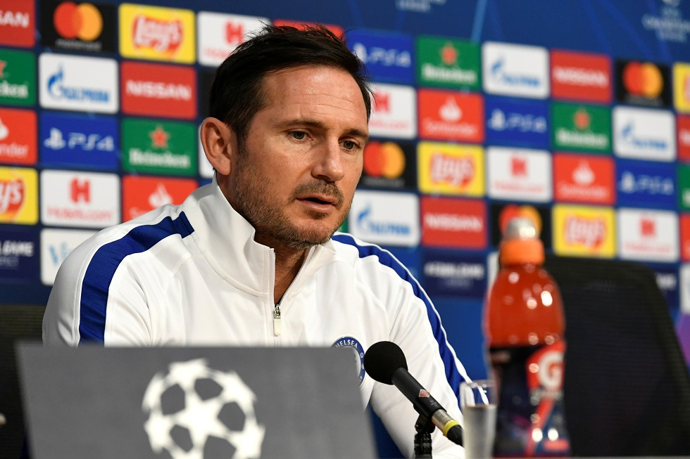 Frank Lampard Hits Back At 'Scared' Comment From Reporter