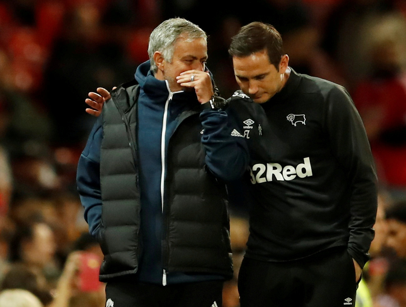 Lampard reveals special Jose texts