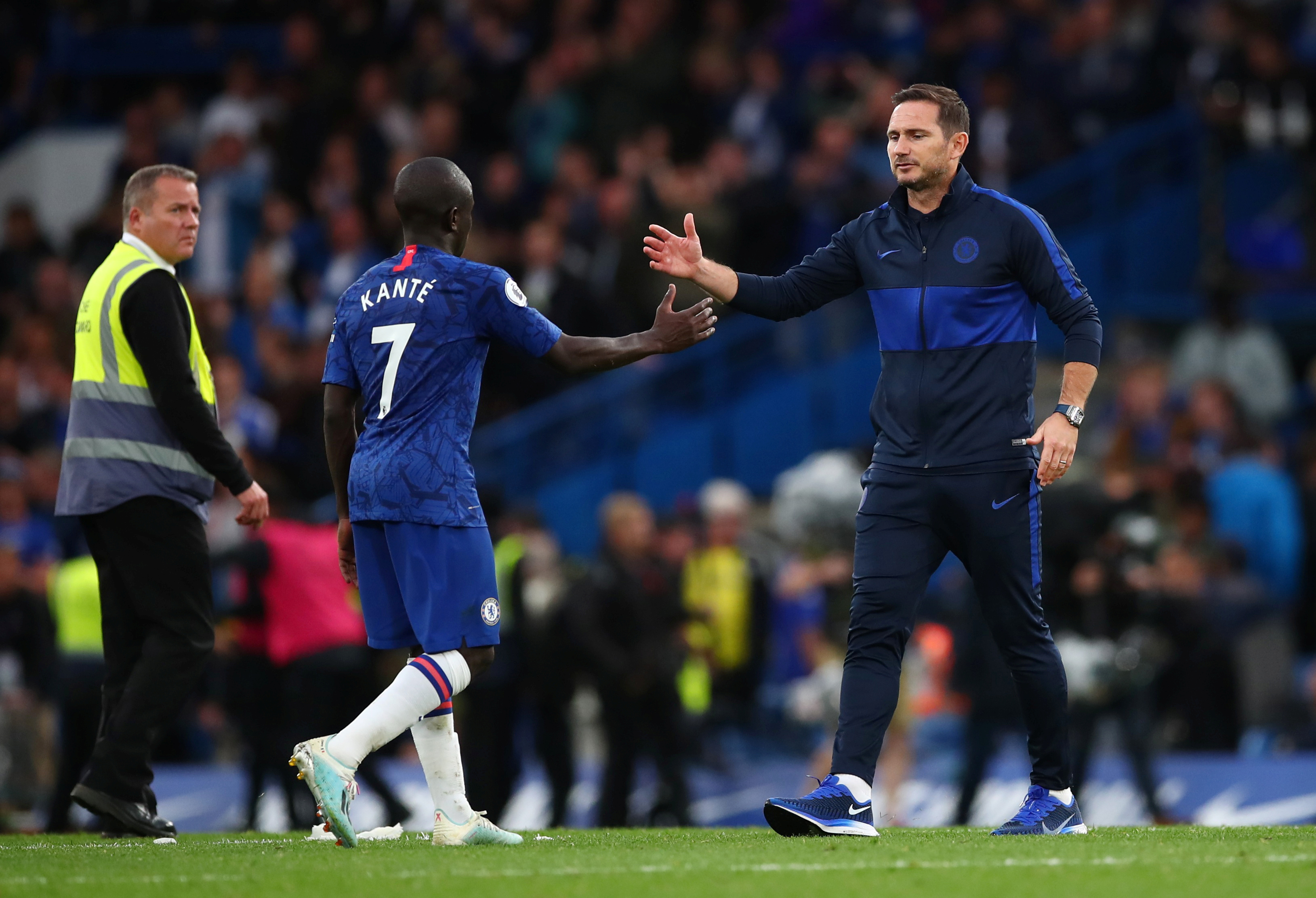 Lampard says N'Golo Kante's set to return to training