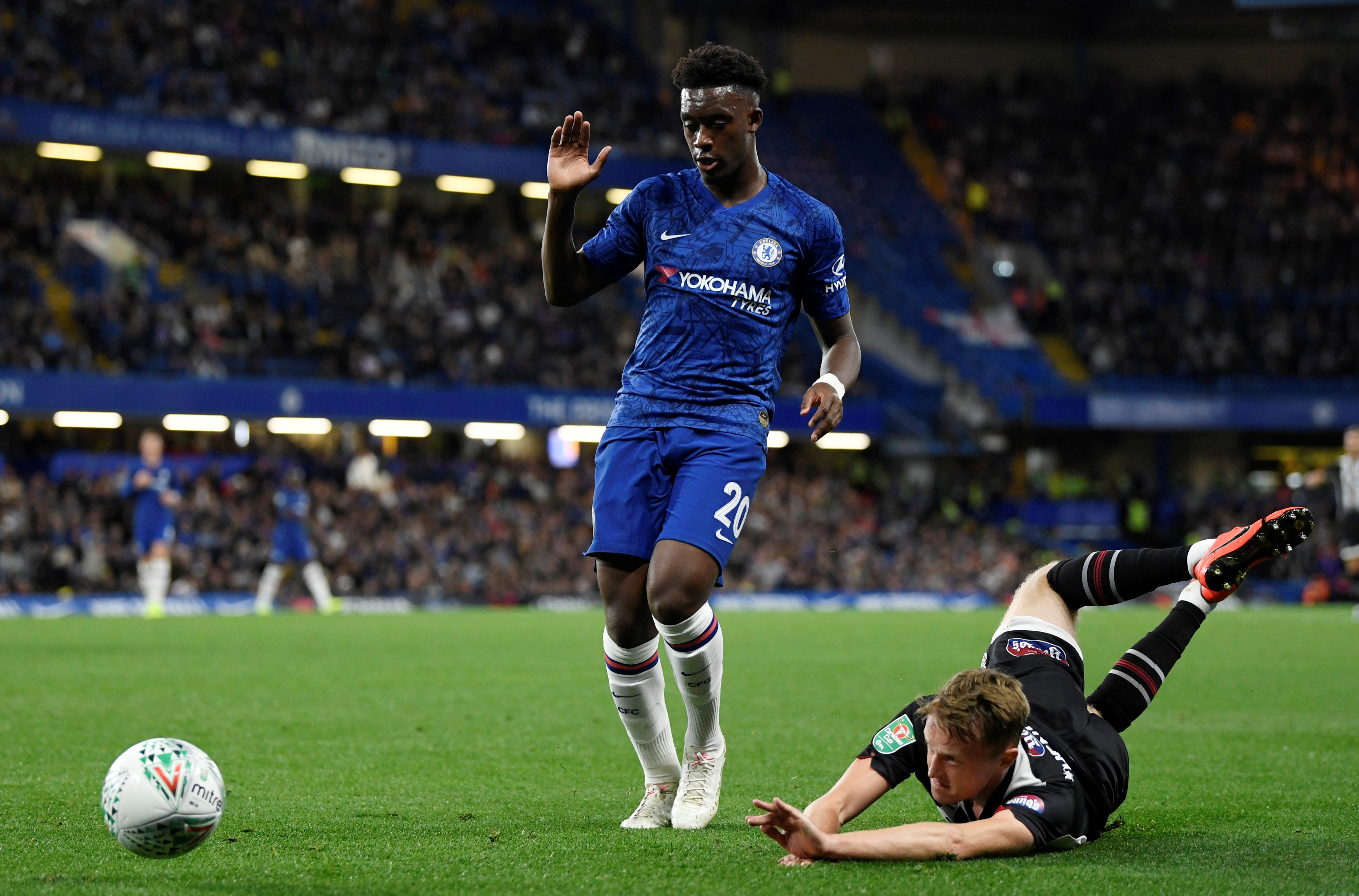 Lampard's view on Hudson-Odoi's performance against Newcastle