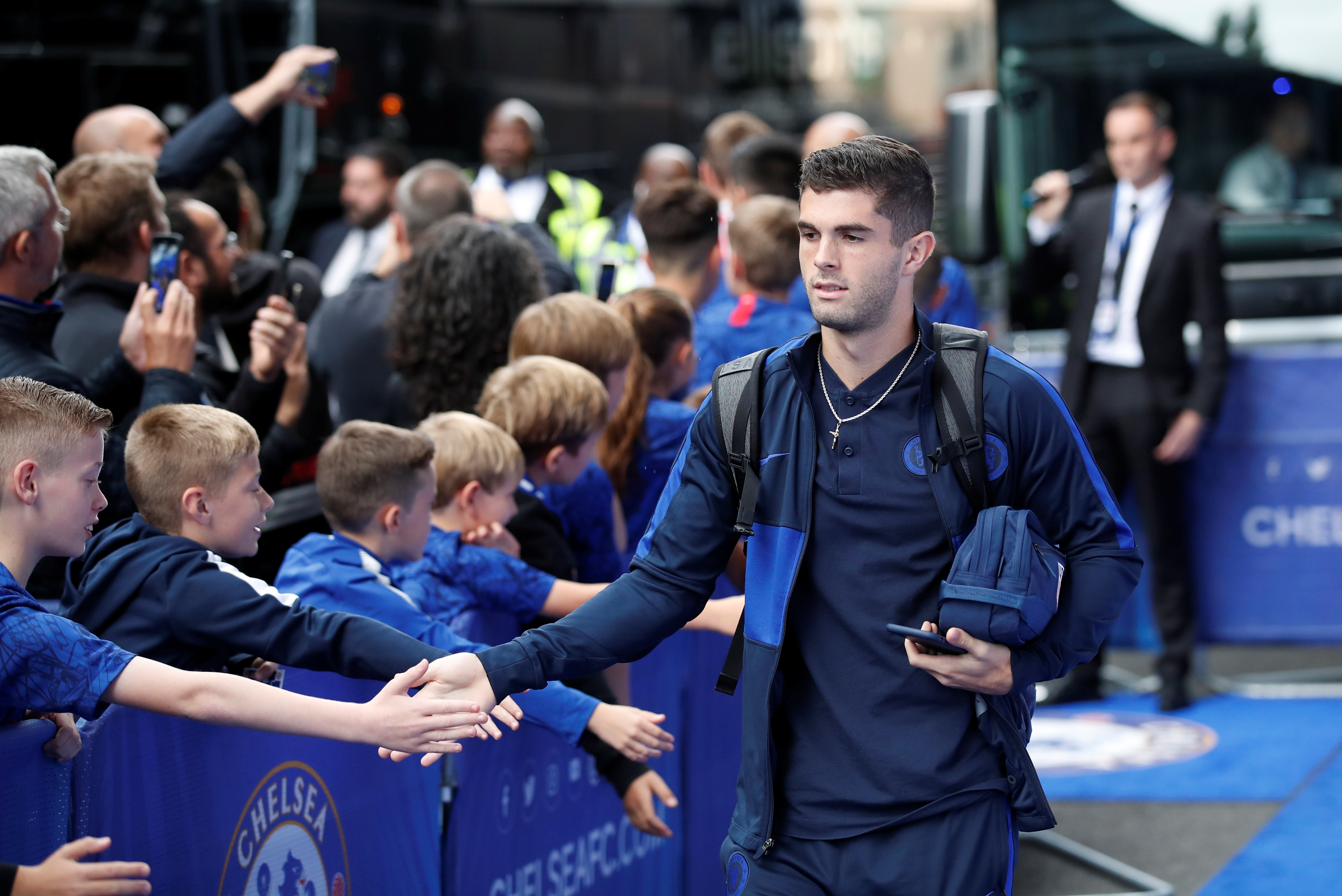 Pulisic makes Chelsea promise to Stamford Bridge fans