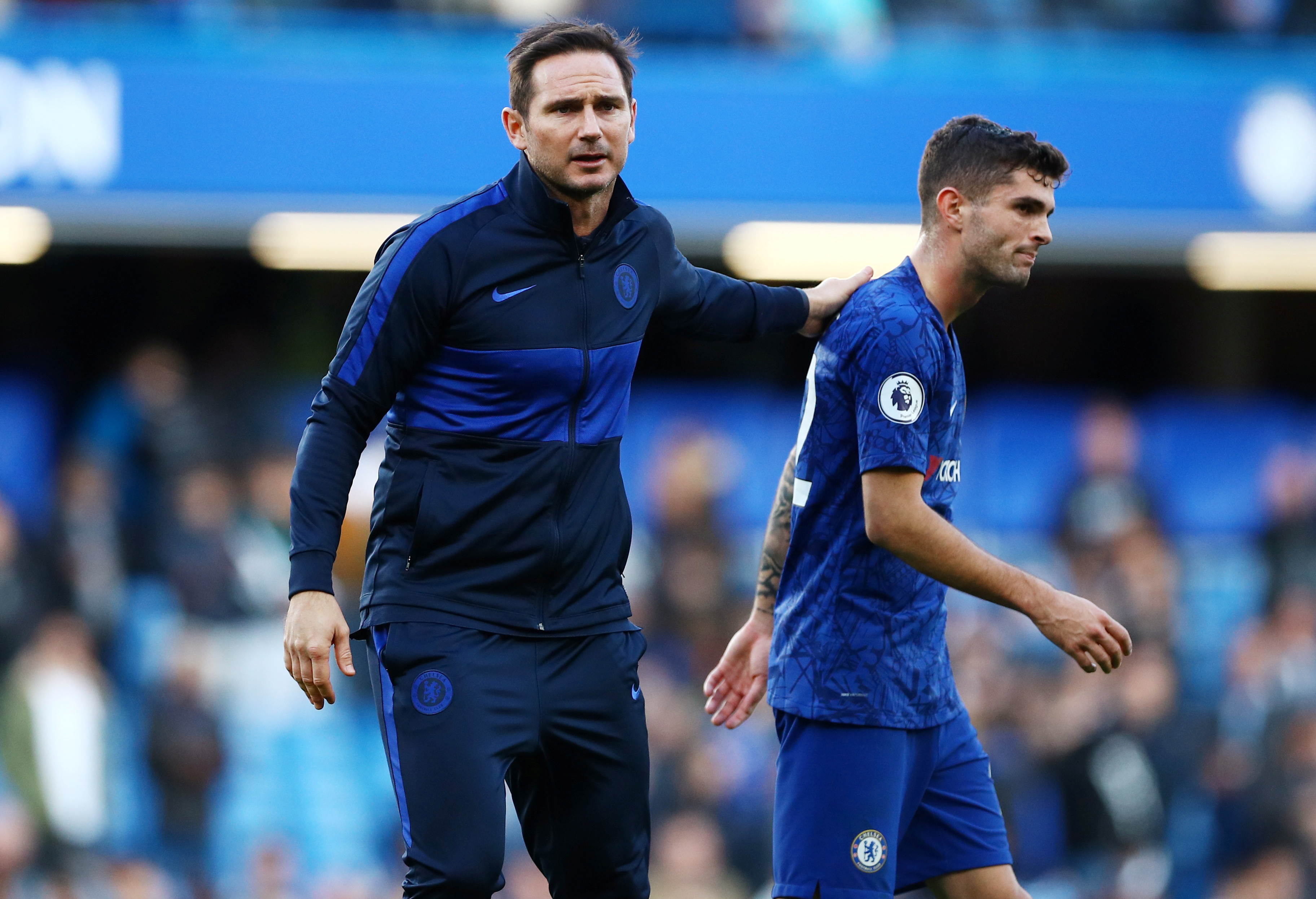 Redknapp praises Lampard and Pulisic