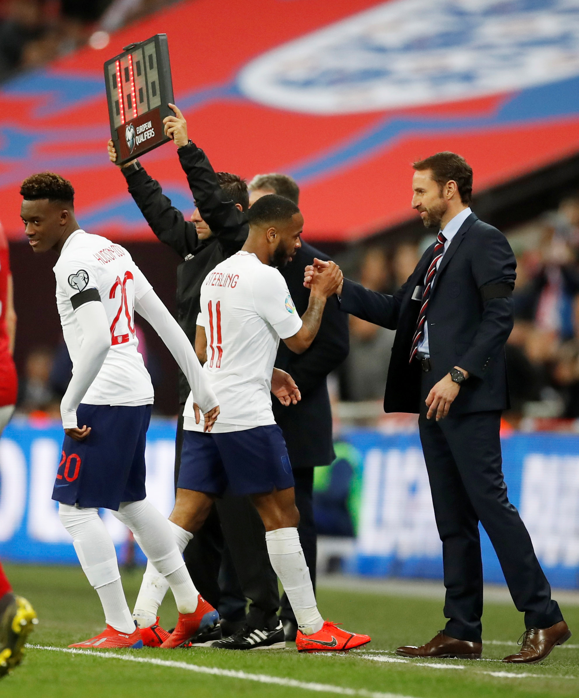 Sterling can be Hudson-Odoi's role model: Lampard