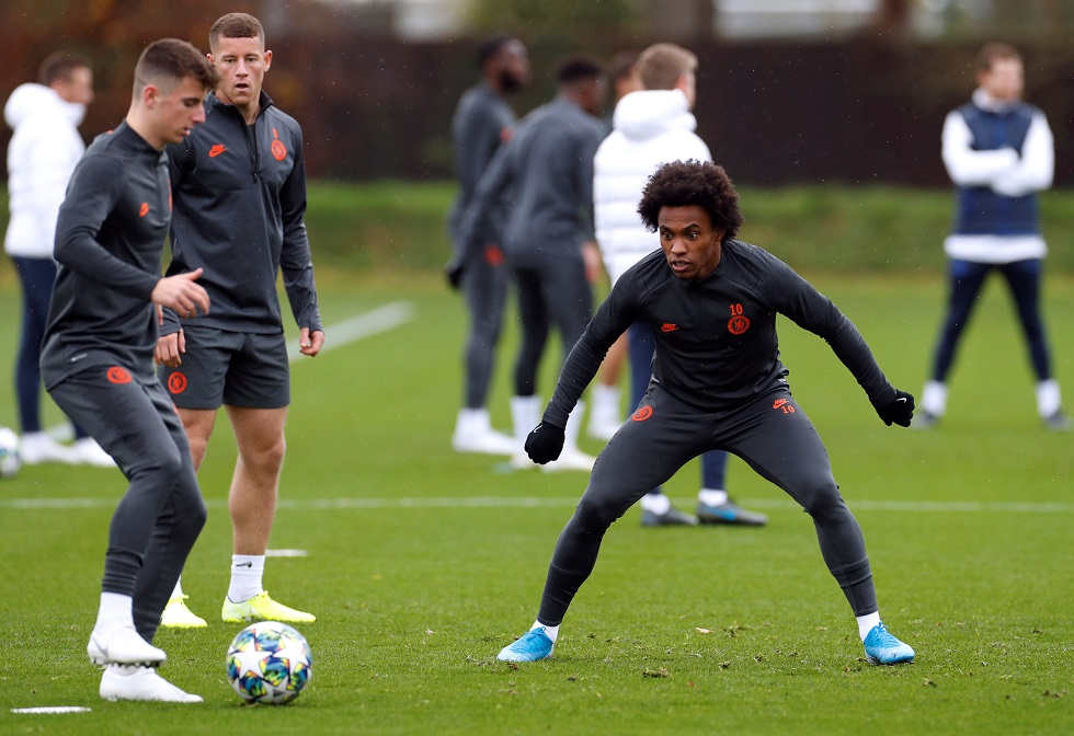 Barcelona Came For Me In 2018 - Willian