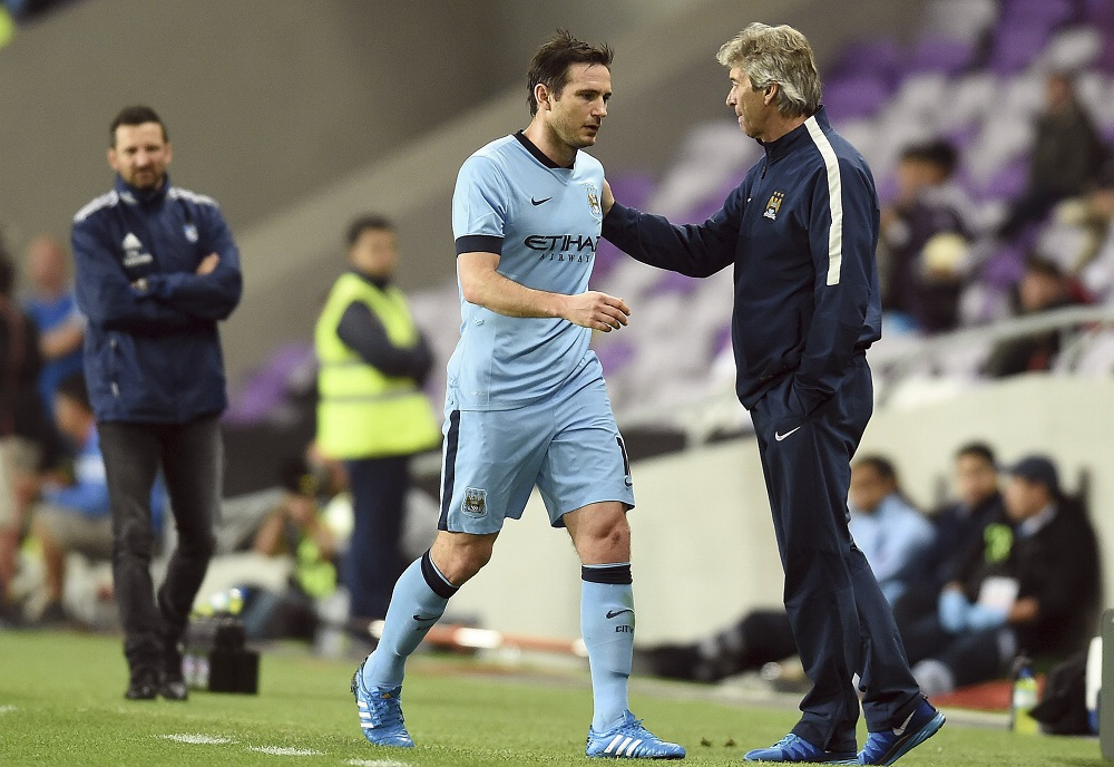 Frank Lampard became the manager he is when he left Chelsea: Manuel Pellegrini