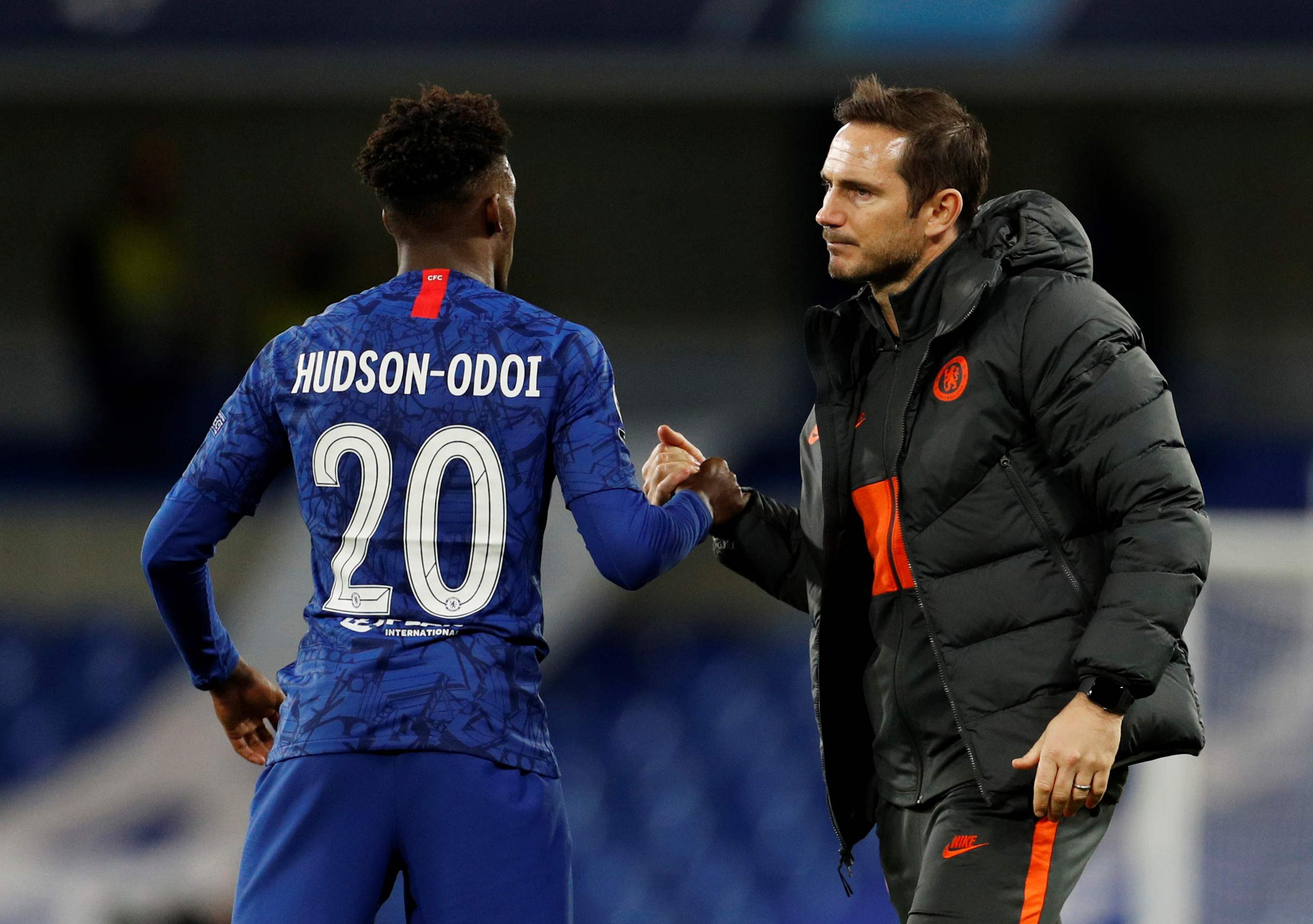 Hudson-Odoi shares opinion about Lampard's fine system