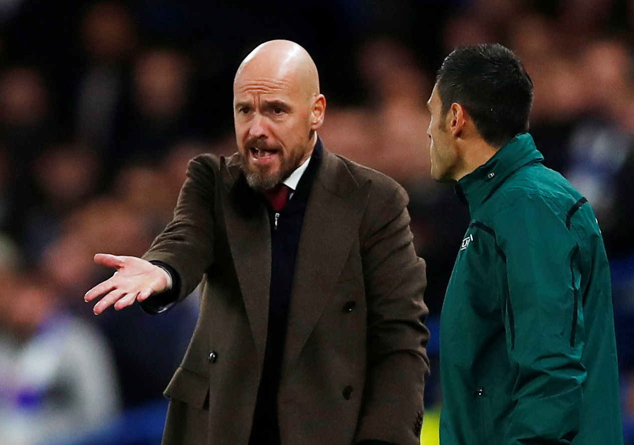 Ten Hag less than satisfied with VAR