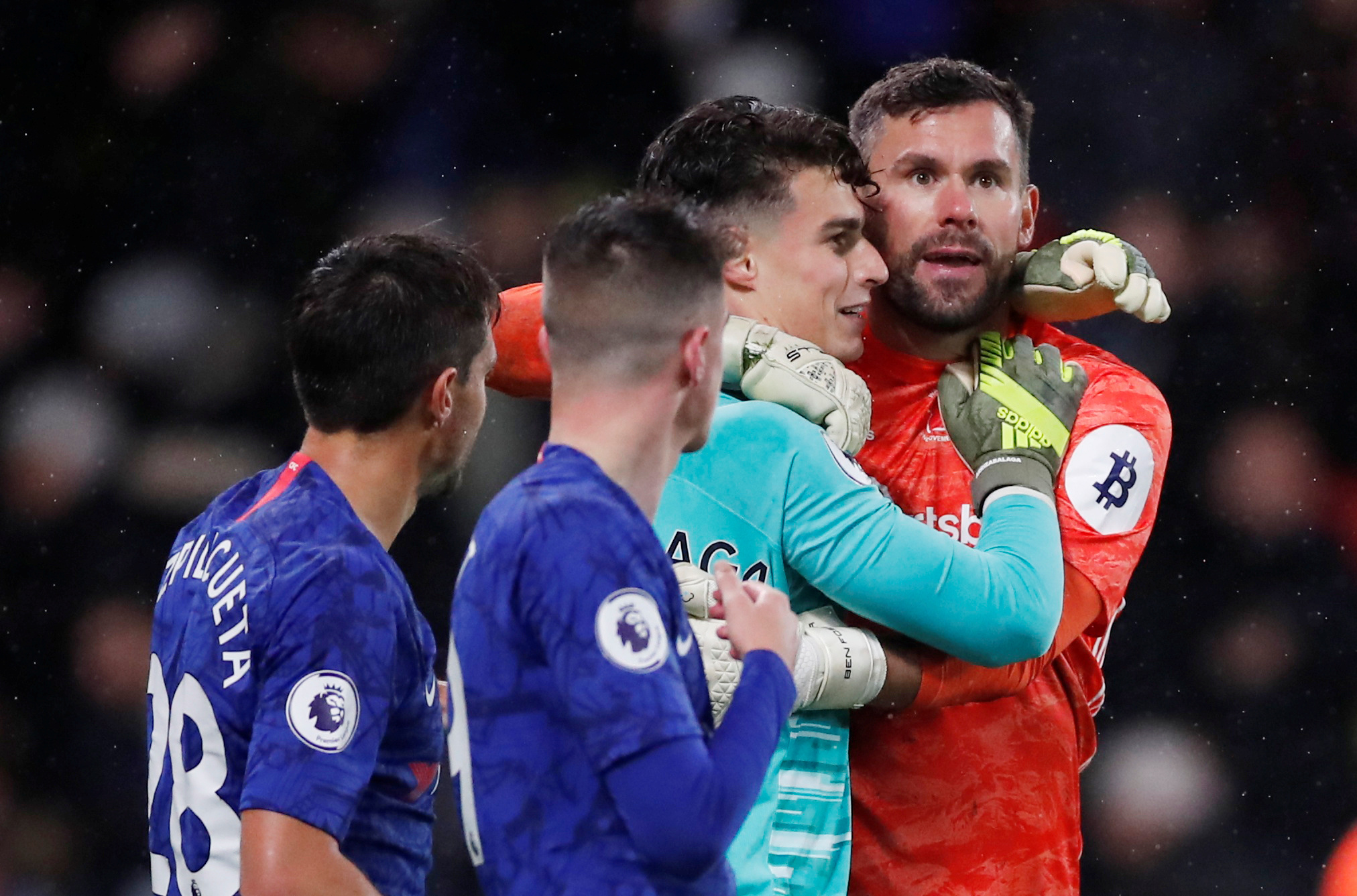 Watford goalkeeper Ben Foster praises late Kepa save in Chelsea win