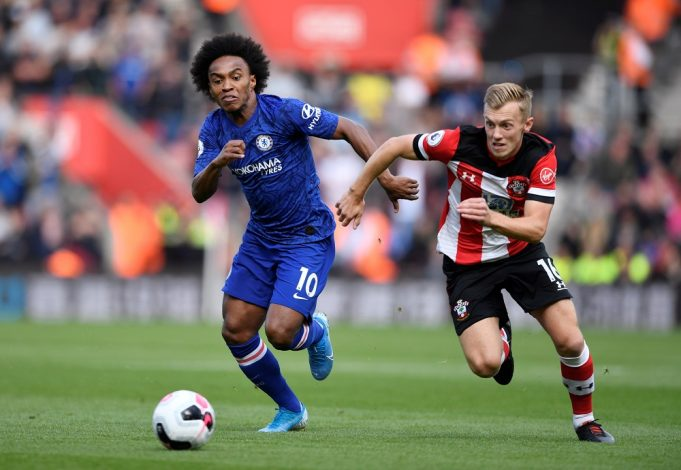 Chelsea vs Southampton Head To Head Results & Records (H2H)