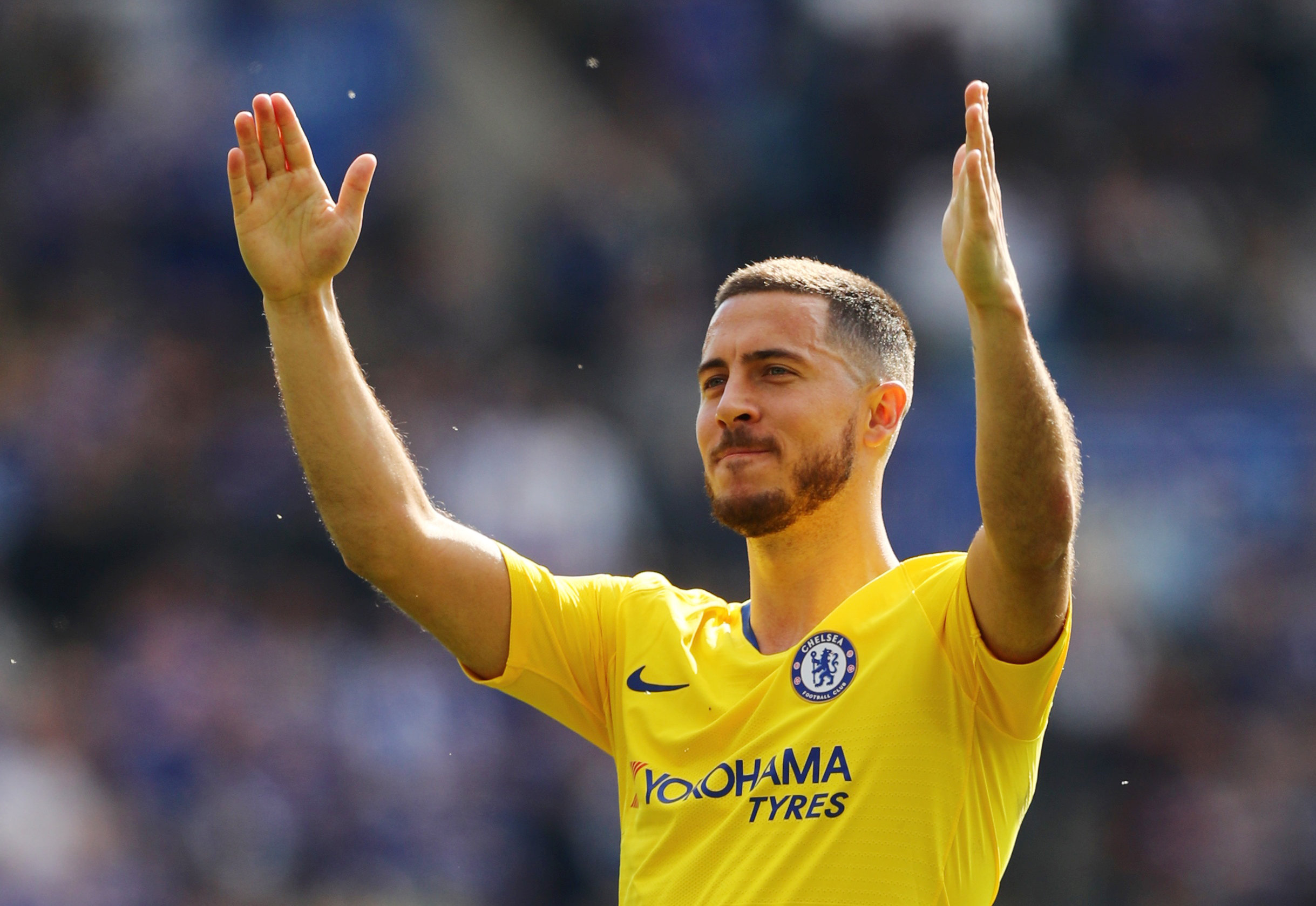 Eden Hazard promises Chelsea return once done at Real Madrid