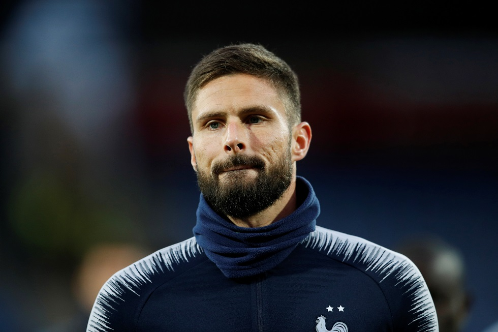 Giroud encouraged to make Chelsea exit