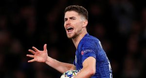 Jorginho explains why it is harder to break teams at home