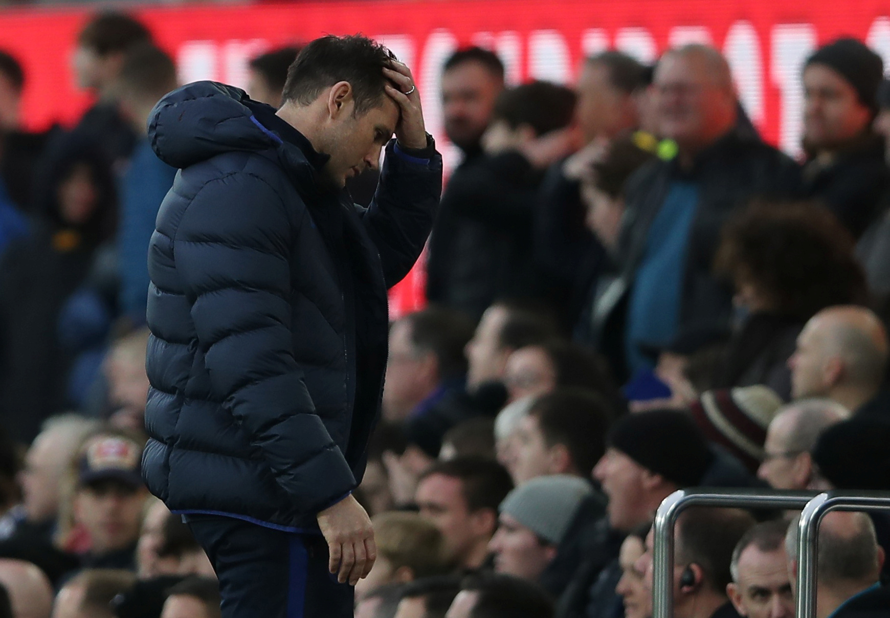 Lampard blasts Chelsea defending
