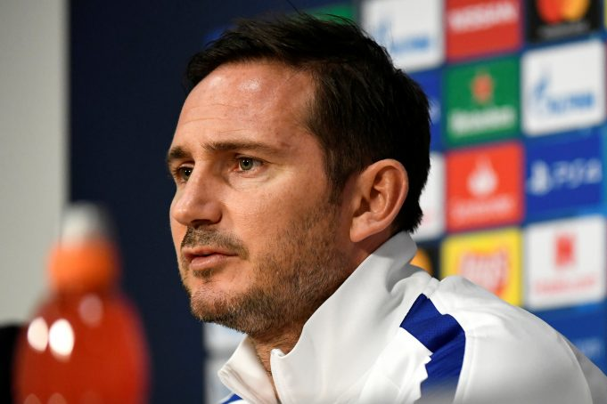Lampard discloses substitution was on his mind before half-time