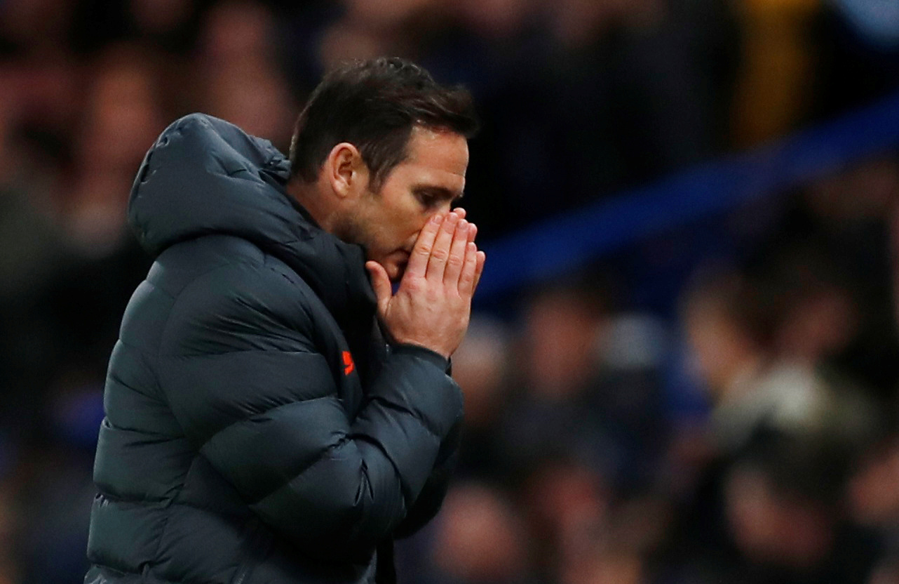 Lampard furious with unmanageable Chelsea