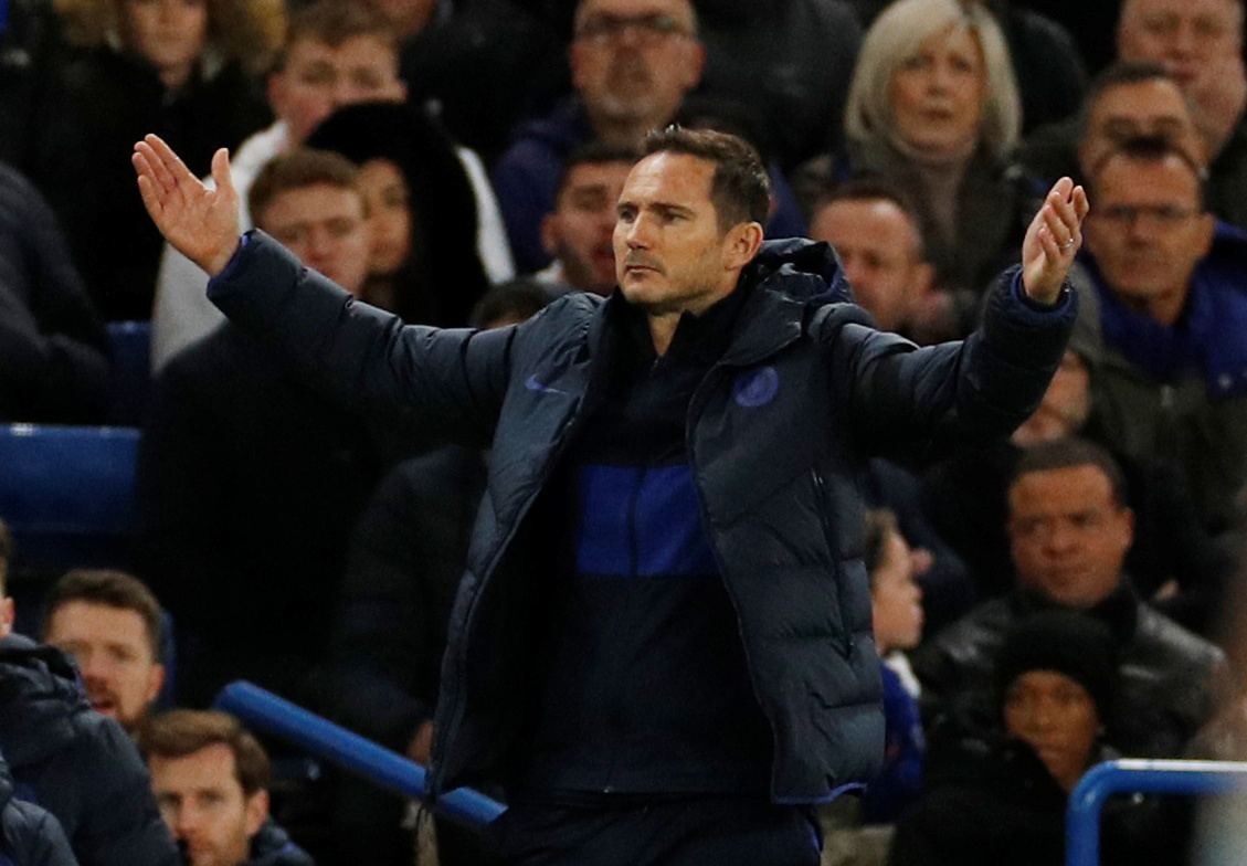 Lampard holding back transfer window trump card