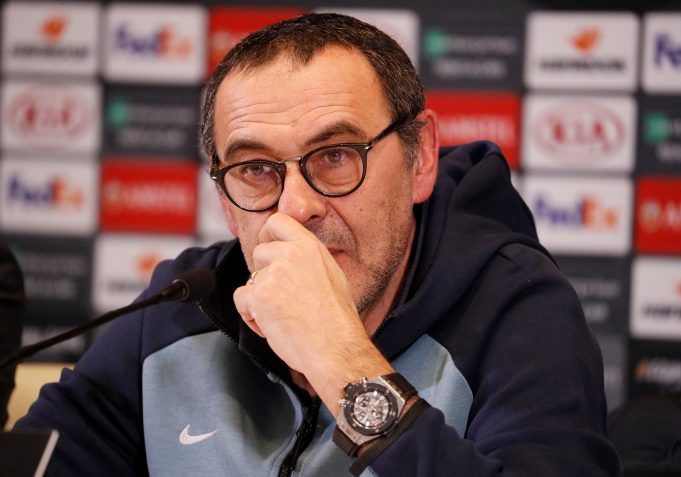 Revelations from Chelsea player's furious bust up with Sarri!