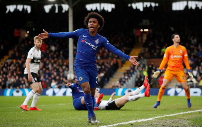 Willian confirms talks for Chelsea extension